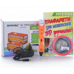 3D-ручка MYRIWELL RP-100A Orange